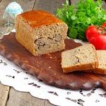 Ржано-пшеничный хлеб с печенью