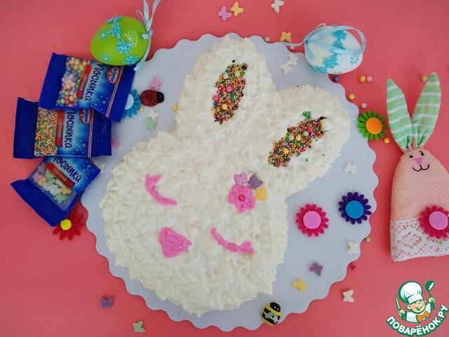 """Торт """"Пасхальный кролик"""" photo"""