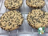 Рассыпчатое печенье из кунжутной пасты тахини ингредиенты