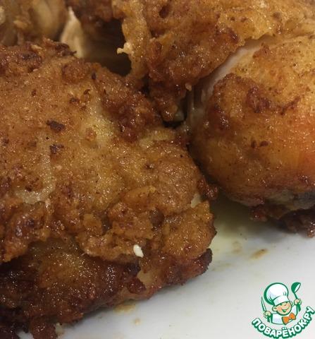 Курица в кефирном маринаде photo