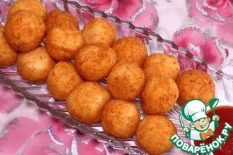 Рецепт: Картофельные шарики с сыром