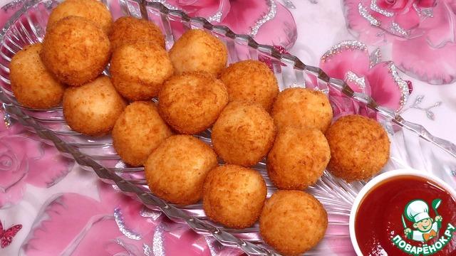 Картофельные шарики с сыром photo