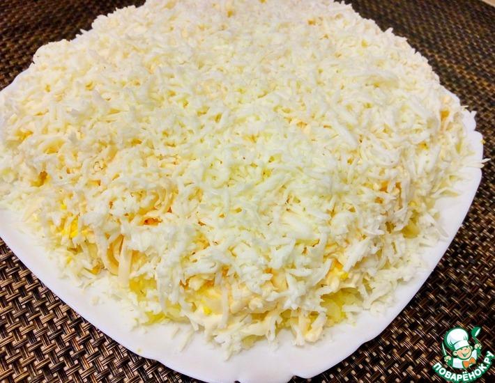 Рецепт: Салат Нежность с курицей