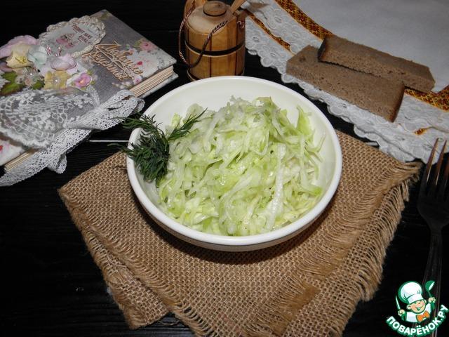 """Капустный салат """"Советский общепит"""" photo"""