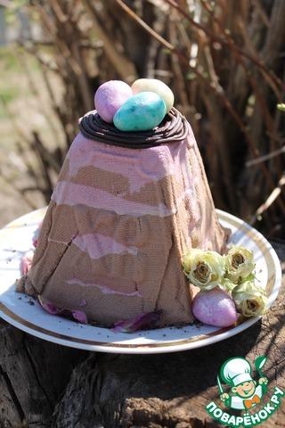 """Творожная пасха """"Вишня-шоколад"""" photo"""