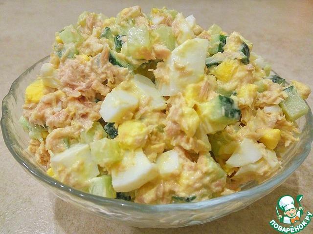 Салат с тунцом – вкусно, быстро и просто photo