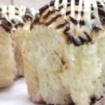 Японские булочки с малиновой начинкой