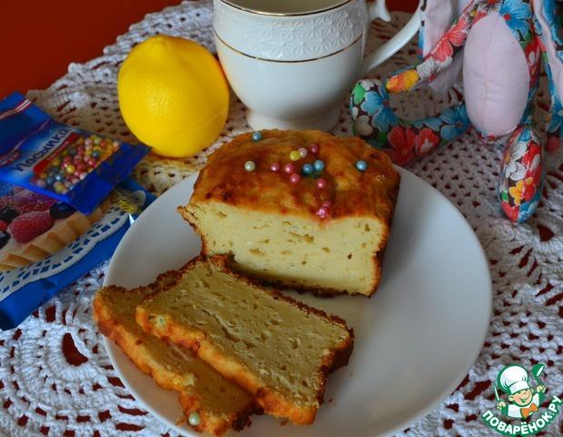 Творожно-лимонный кекс photo