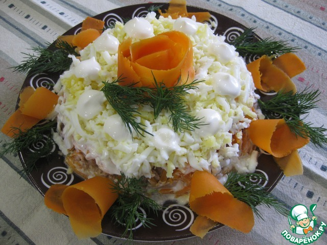 "Салат из тунца ""Сытный"" photo"