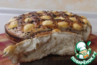 Рецепт: Домашний праздничный хлеб