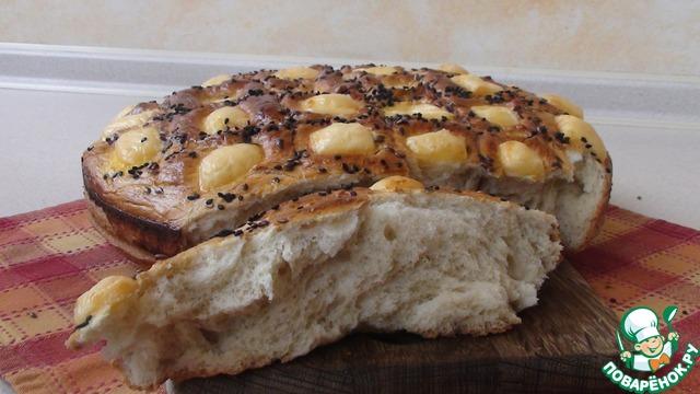 Домашний праздничный хлеб photo