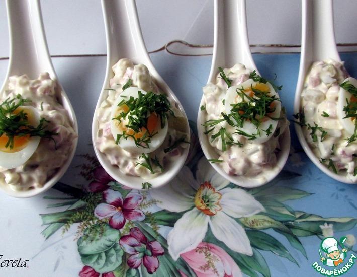 Закуски из вареных яиц рецепты — pic 5