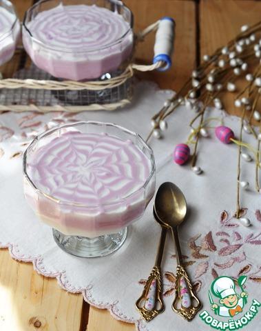 """Творожный десерт """"Ягодное вдохновение"""" photo"""