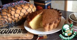Рецепт: Творожный кекс Ностальгия по СССР