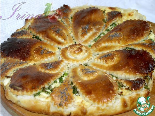 Сырный пирог photo