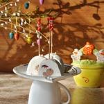 Творожный десерт Клюква с шоколадом