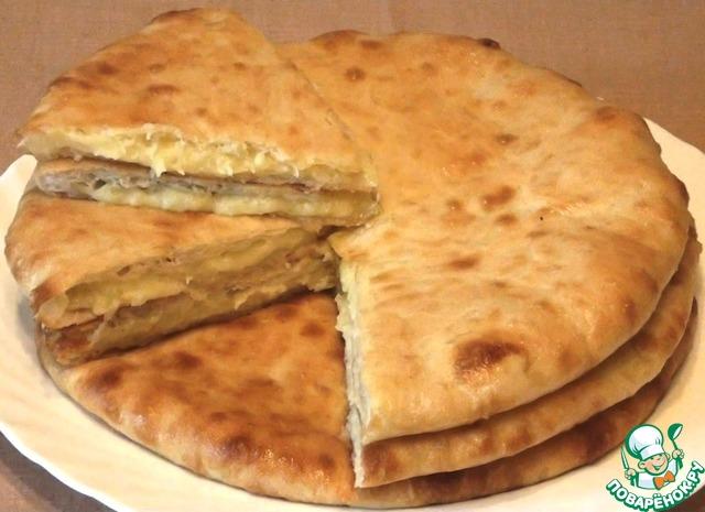 Осетинские пироги с картофелем и сыром photo