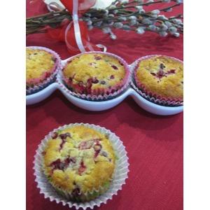 Кексы ягодно-кокосовые Фейерверк вкуса