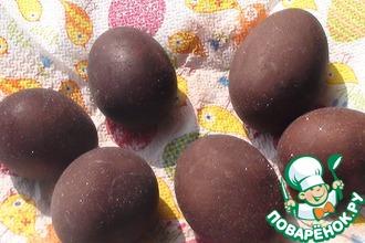 Рецепт: Пасхальные искрящиеся яйца