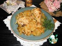 Курица на капусте ингредиенты