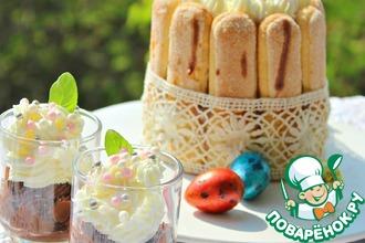 Рецепт: Десерт с пудингом Вкус бельгийского шоколада