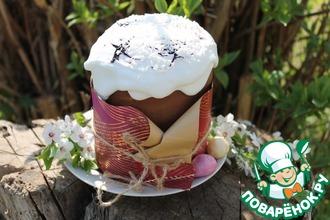 Рецепт: Пасхальный торт Кулич