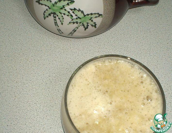 Смузи на основе зелёного чая