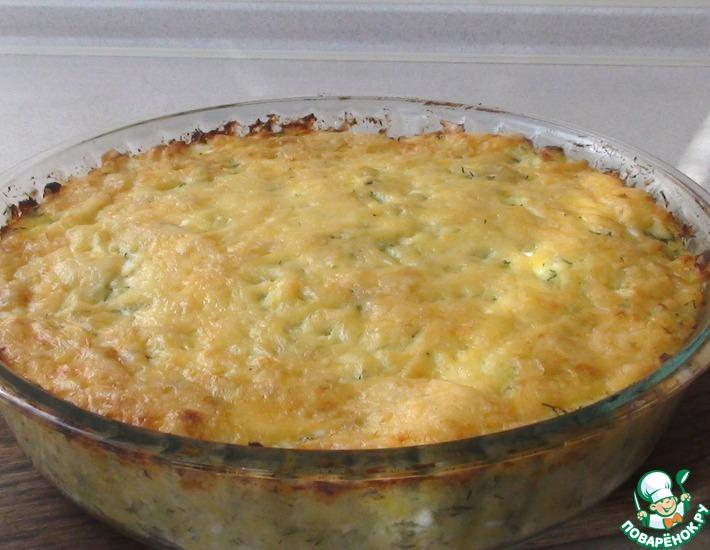 Рецепт: Картофельная запеканка без мяса
