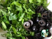 Салат с щавелем «Душевный» ингредиенты