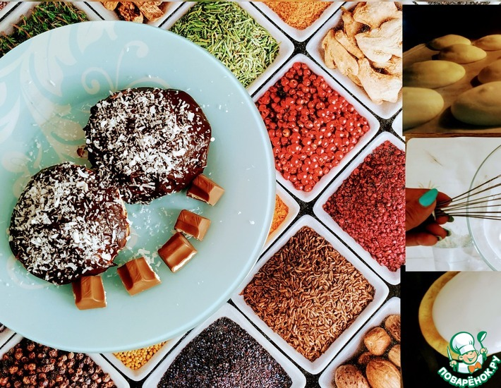 Рецепт: Домашнее печенье Чоко Пай