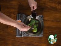 Маринованный макрурус, жареный с капустой пак-чой ингредиенты