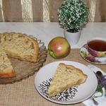Пирог с лимонно-яблочной начинкой