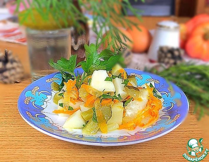 Картофельный салат «Усадьба»