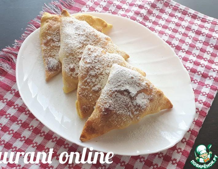 Рецепт: Крымские пирожки с фруктами