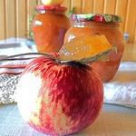 Яблочный джем Ленивая хозяйка