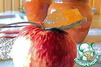 Рецепт: Яблочный джем «Ленивая хозяйка»