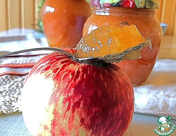 Рецепт: Яблочный джем Ленивая хозяйка