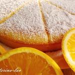 Быстрый пирог с цитрусовой ноткой