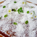 Яблочный пирог с инжиром и орехами