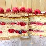 Торт «Малиновая радость»