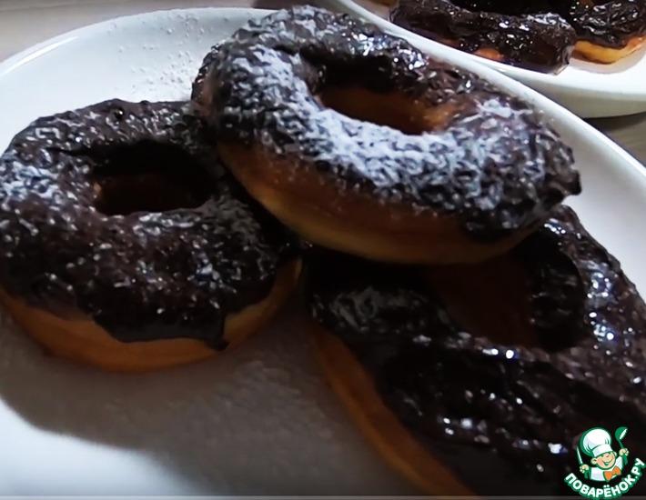 Рецепт: Пончики