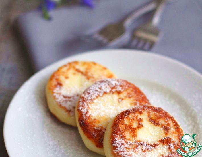 Рецепт: Сырники