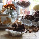 Миндально-конфетные кексы