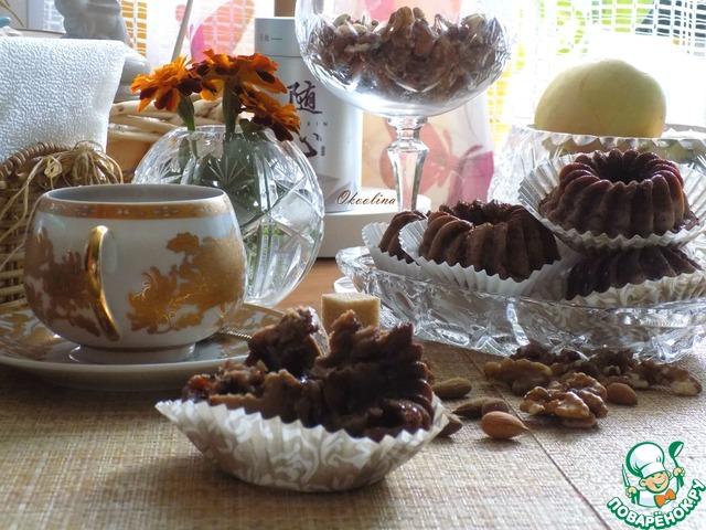 Миндально-конфетные кексы photo