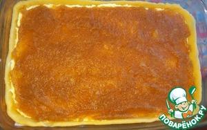 Пирог с творогом и яблоками Мука пшеничная
