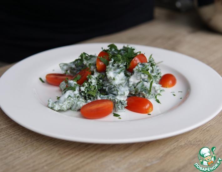Рецепт: Простой салат с кейлом