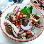 Салат Тбилиси с куриным мясом