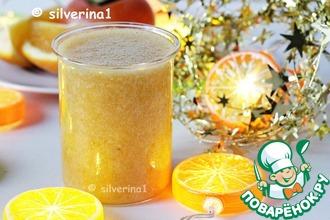 Рецепт: Смузи с хурмой и апельсином