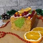 Новогодний кекс Елочка