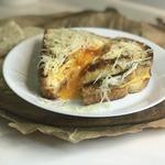Сырный сэндвич с яйцом